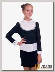 Рубашка-обманка для девочки Kids 72-1