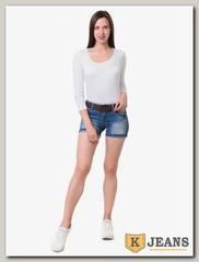 Шорты женские джинсовые Langluka X1636DK