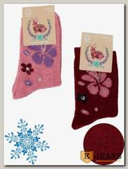Носки женские шерстяные Клевер 5101