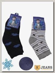 Носки махровые для мальчика Алия С58