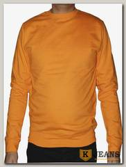 Толстовка-джемпер (осень) без капюшона оранжевая МТБК-9