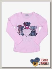 Лонгслив для девочки Cool Bear 206-2