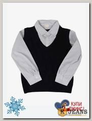 Рубашка-обманка для мальчика HLYB A109-1