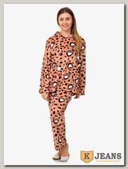 Пижама женская махровая 1975-5