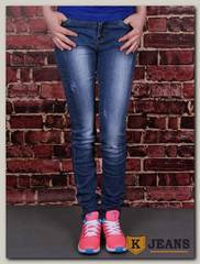 Джинсы для девочки AK Jeans YN-203