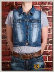 Жилет женский джинсовый YJS YL3050M