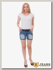 Шорты женские джинсовые Langluka X1633DK