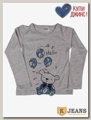 Лонгслив для девочки Cool Bear 296-5