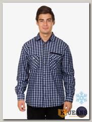Рубашка мужская утепленная Sainge 5903-6