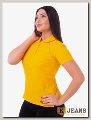 """Рубашка поло женская Мос Ян Текс цвет """"Желтый"""""""