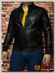 Куртка кожаная мужская ZG F082