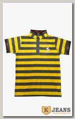 "Рубашка поло муж. HP A10 цвет ""желтый"""