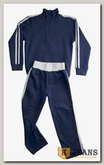 "Спортивный костюм мал. Bim Bam с молнией ""темно-синий"""