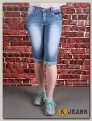 Бриджи женские джинсовые Rich Berg T9010