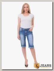 Бриджи женские джинсовые Rich Berg T9011