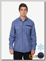 Рубашка мужская утепленная Sainge 5905-5