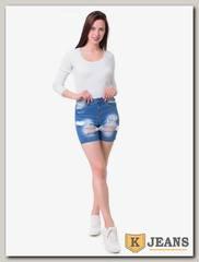 Шорты женские джинсовые Langluka LK0147DK