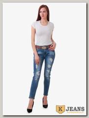 Джинсы женские рваные FX Jeans FX4109KK