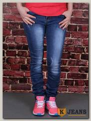 Джинсы для девочки AK Jeans YN-204
