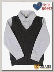 Рубашка-обманка для мальчика HLYB A109-3