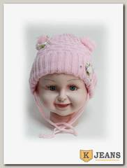 Шапка детская для девочки ШДД-1-3