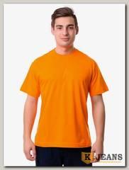 Футболка мужская Мос Ян Текс оранжевый