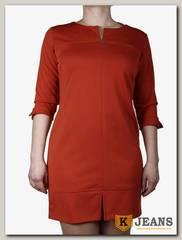 Платье трикотажное Ромашка П218-1
