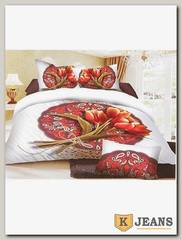 Комплект постельного белья 1,5 спальный Nina КПБС-015-80
