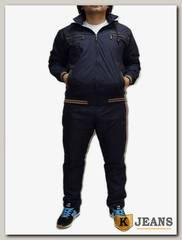 Костюм спорт. муж Billcee 4071-7, темно-синий.