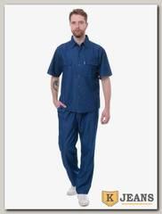 Костюм мужской джинсовый Feibo B26-2