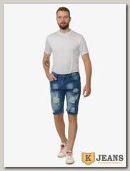 Бриджи джинсовые мужские Porosus 8905