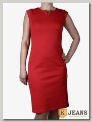 Платье трикотажное Ромашка П213-1