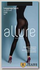 Леггинсы женские Allure Natural Leggings Sarin150 den nero