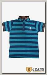 """Рубашка поло муж. HP A10 цвет """"бирюза"""""""