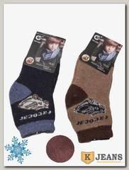 Носки шерстяные для мальчика Софья А-06