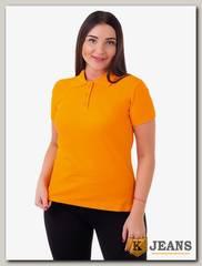 """Рубашка поло женская Мос Ян Текс цвет """"Оранжевый"""""""