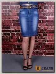 Юбка женская джинсовая Dersairle 1003