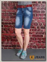 Бриджи женские джинсовые Langluka X1622AK