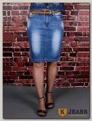 Юбка женская джинсовая Dersairle 1021