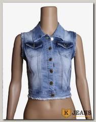 Жилет джинсовый жен. Rich Berg В8943