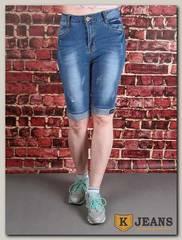 Бриджи женские джинсовые Miss Bon MB387-1