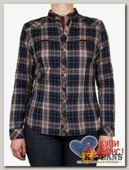 Рубашка женская Base A6907-1