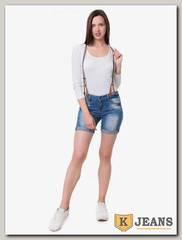 Шорты женские джинсовые Langluka X1619K