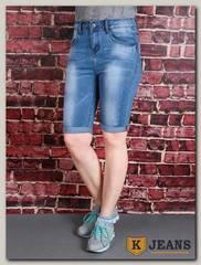 Бриджи женские джинсовые Langluka LK1615W-1