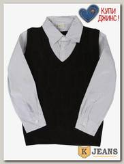 Рубашка-обманка для мальчика HLYB D865-1
