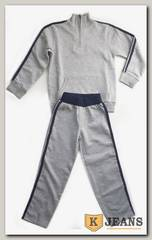 "Спортивный костюм мал. Bim Bam с молнией ""серый-меланж"""