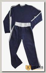 """Спортивный костюм мал. Bim Bam 2-й воротник """"темно-синий"""""""