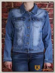 Куртка женская джинсовая Lanmasku 160
