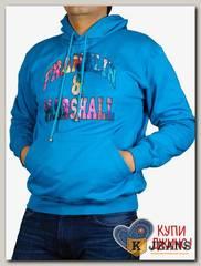 "Толстовка-кенгуру (осень) бирюза ""Franklin&Marshal"" МТКП-2118"