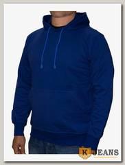 Толстовка-кенгуру (осень) синяя